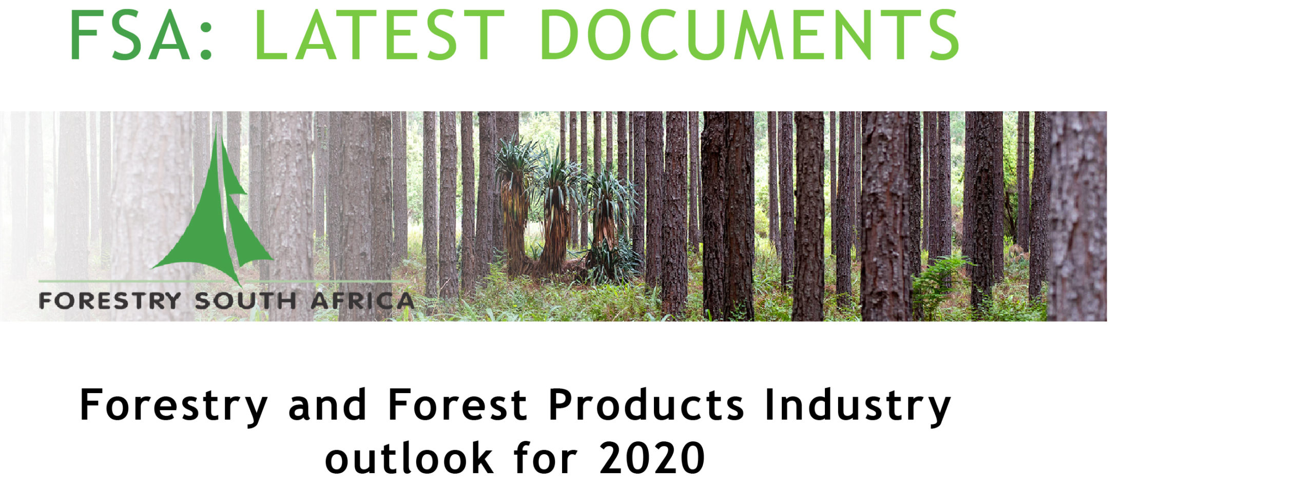 001 latest documents - Forestry 2020