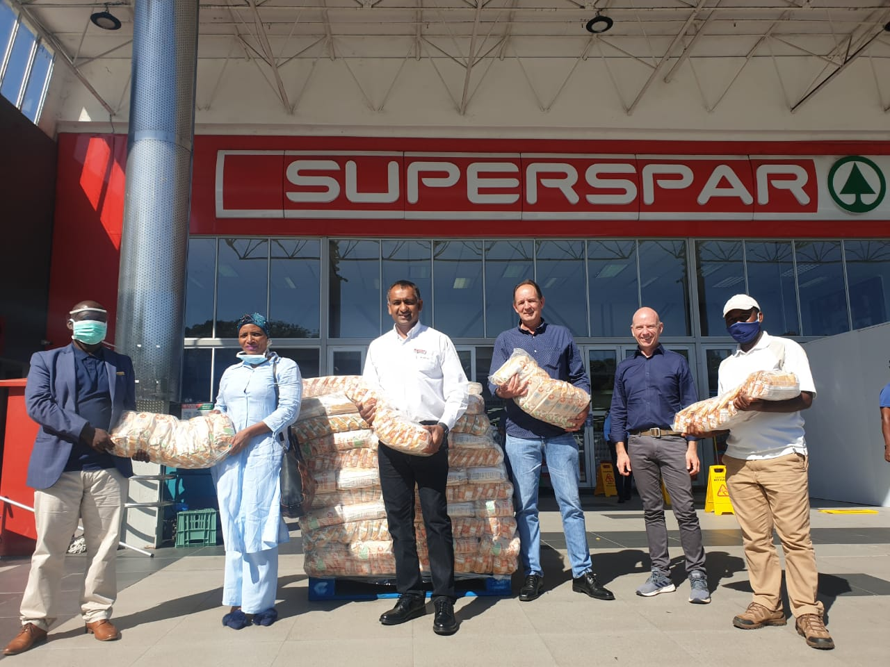 21 April – Sappi donates essential items and products for COVID-19 relief